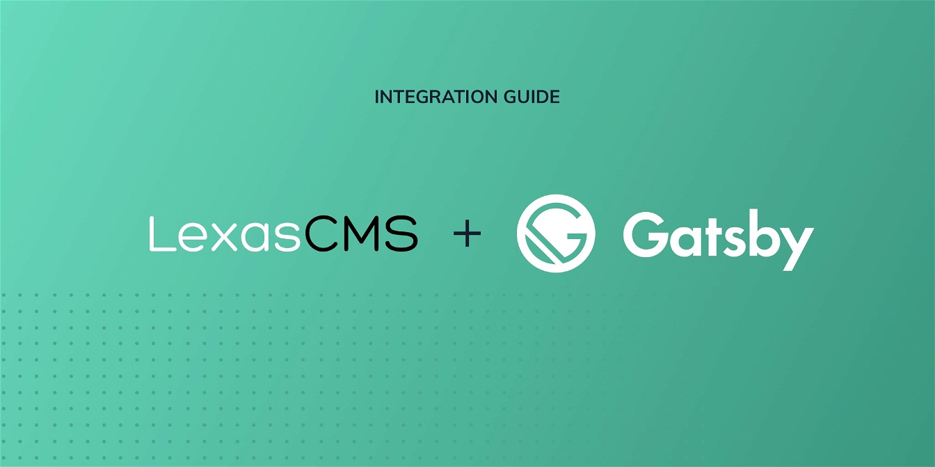 Gatsby integration guide cover