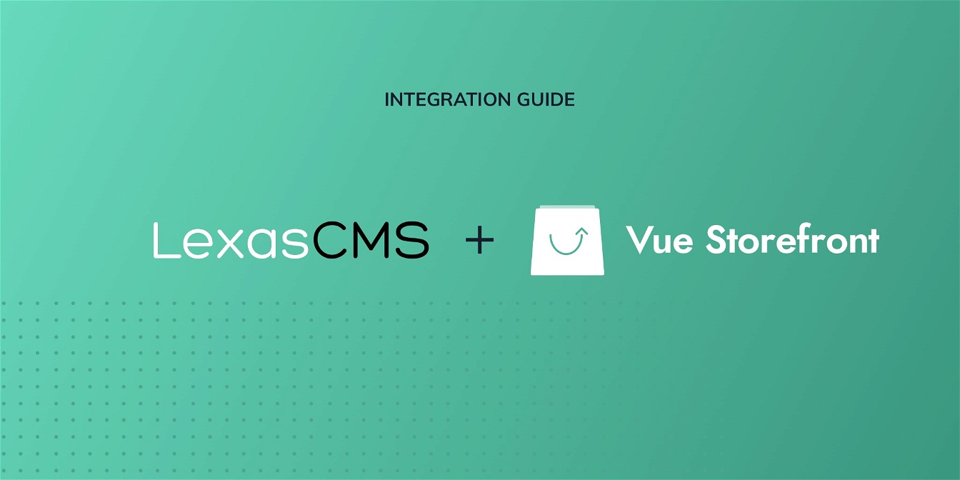 Vue Storefront integration guide cover