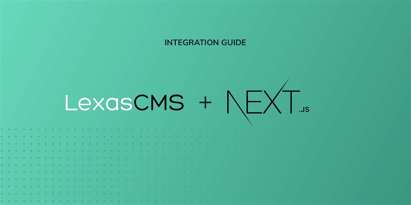 Next.js integration guide cover